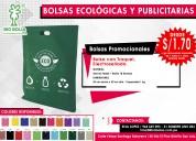 Bolsas ecologicas publicitarias