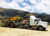 Transporte de carga pèsada a nivel nacional