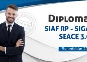 Diplomado especializado siaf siga seace