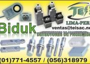Sensores inductivos biduk
