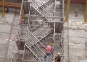 Venta y alquiler de escaleras de acceso certificad