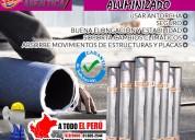 Producto garantizado con membrana asfaltica liso