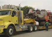 Transportes de carga pesada  a nivel nacional 9950