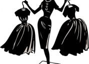 Confección de vestidos de fiesta
