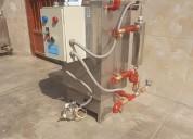 Generador de vapor de pase