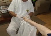 Servicio de podologia clínica o geriátrico