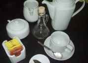 Alquiler de tazas y vajilla para coffee break lima
