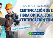 Curso enlaces de fibra Óptica, software