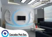 mueble de tv modernos, mueble de tv con luces led