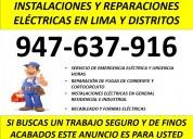 instalaciones y reparaciones electricas domicilio