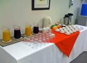 Alquiler de tazas y vajilla para coffee break