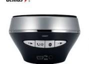 Genius sp-900bt bluetooth black/silver- parlante