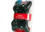 Cybertel doble gamepad usb - mando