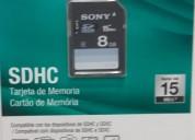 Sony sdhc 8 gb - tarjeta de memoria