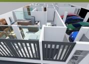 Departamento de lujo flat 3 dormitorios