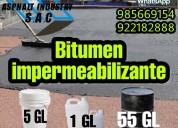 Impermeabilizantes bitumen en venta