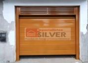FabricaciÓn e instalaciÓn de puertas seccionales