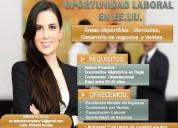Buscas empleo? vacantes disponible en eeuu
