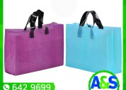 Bolsas con pliegues - a&s plax