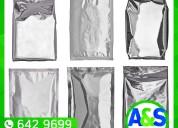 Bolsas de aluminio - a&s plax