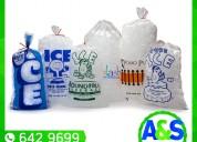 Bolsas para hielo - a&s plax