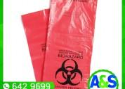 Bolsas para residuos toxicos - a&s plax