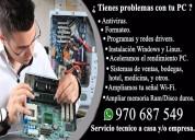 Servicio tecnico computadoras a domicilio.