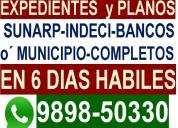 Planos para obras civiles urgente