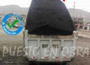 Venta de asfalto en frio puesto en obra