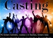 Casting de canto y/o baile.