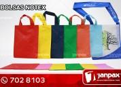 Bolsas de notex - janpax