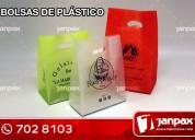 bolsas plásticas - janpax