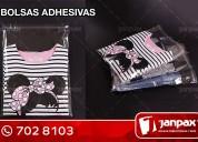 bolsas con adhesivo - janpax