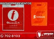 bolsas publicitarios - janpax