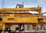 Bomba hormigonera de concreto schwing importado