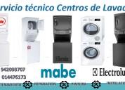 Servicio tecnico centros de lavado mabe