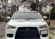 mitsubishi evolution 2008 51200 kms