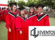 Togas de graduacion en alquiler