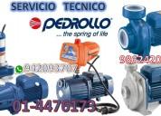 Servicio tecnico bombas de agua pedrollo 4476173