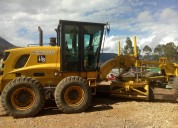 Vendo motoniveladora new holland 2007