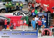 Activaciones, eventos sonido kokys btl