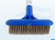 """Cepillo de acero con mango plastico 6""""(r500012)"""