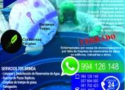 Limpieza de reservorios de agua cel:994126148