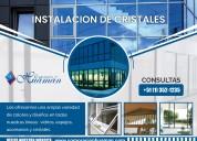 corporacion huaman – instalacion de cristales – at
