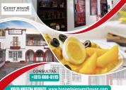 Hospedaje – restaurant – guest house