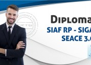 "Diplomado especializado ""sistemas gubernamentales"""