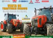 Venta de maquinarias agricolas de segundo uso