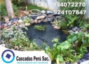 Estanques artificiales de jardin, fuentes de agua