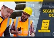 Curso especializado seguridad y salud ocupacional