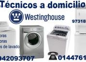 Servicio tecnico lavadoras westing house